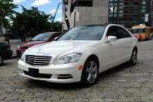 Mercedes S550 for rent in New York