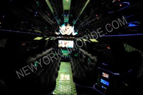 Cadillac Escalade limousine for birhday party