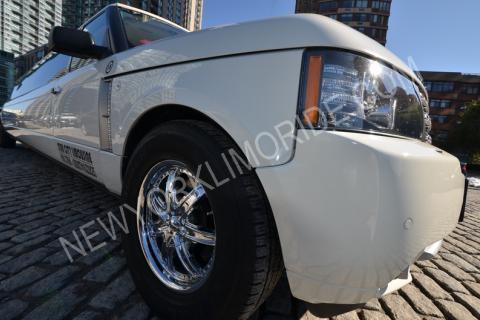 Range Rover Limousine for Weddings in New York