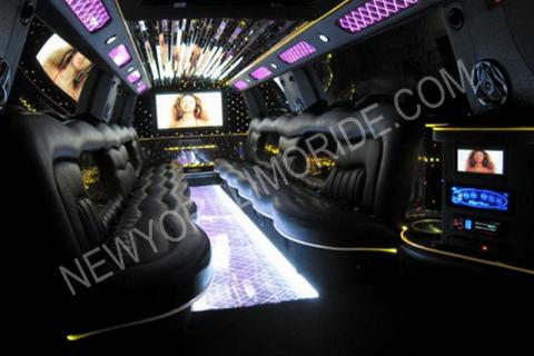 Cadillac Escalade limousine for weddings
