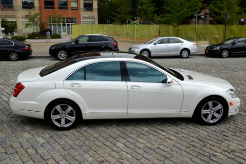 Mercedes S550 for rent in NYC