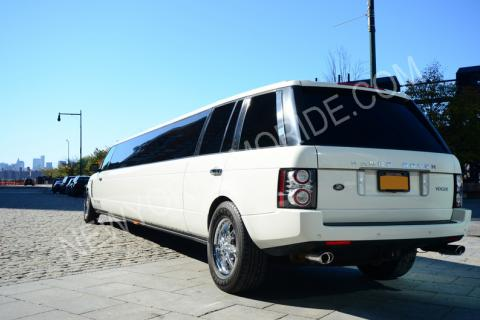 Range Rover Limousine in NYC